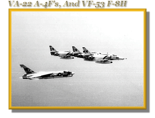 VA-22 A-4Fs With Escort